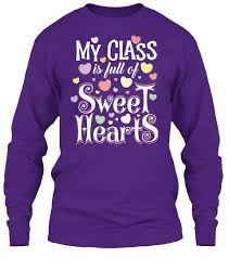 valentines shirts valentines day my class is of sweet hearts products
