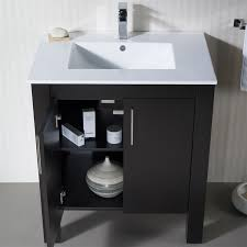 31 Bathroom Vanity by Vanity Parsons 31 With Porcelain Top
