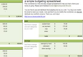 Spreadsheet Template For Budget 10 Free Household Budget Spreadsheets For 2017