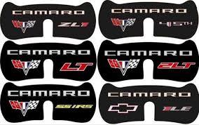 camaro logos 2010 2015 chevrolet camaro rear decklid trunk lid panel with