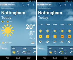 weather apps free android launches free weather app for android and it s jolly one