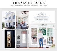 forbes design center featured in the scout guide forbes design
