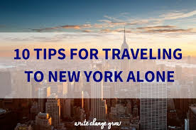 New York how do you spell travelling images 10 tips for traveling to new york alone jpg
