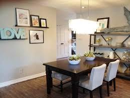 enchanting rectangular crystal chandelier dining room and light