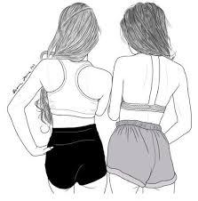 best 25 best friend sketches ideas on pinterest bff drawings