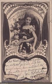 art nouveau frames wonderings