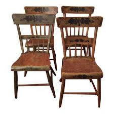 Antique Wood Chair Vintage U0026 Used Dining Chairs Chairish