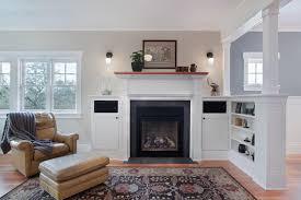 classic craftsman style interiors represent the elegancy home