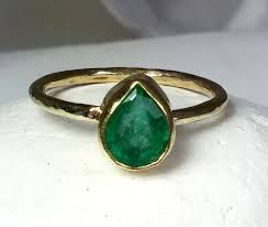 gold emerald engagement rings columbian emerald gemstone gold ring solid yellow gold and