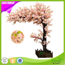 design 5ft artificial cherry blossom tree wedding flowers