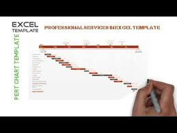 Pert Chart Template Excel How To Create Pert Chart Template In Excel