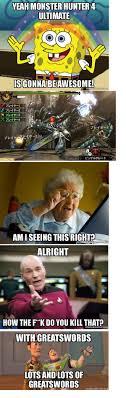Hunter Meme - 23 best monster hunter memes images on pinterest monsters
