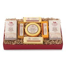 cheese gift box meat and cheese gift baskets hickory farms
