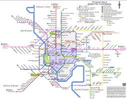 Atlanta Marta Train Map by Subways Transport