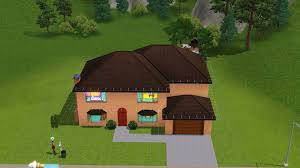 the simpsons house in sims 3 album on imgur