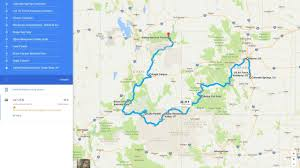 Colorado Us Map by The Horizon Zero Dawn Real World Road Trip Challenge Features