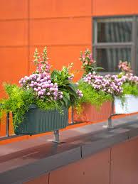 railing planters 24