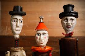 circus puppets from brockway s circus puppet theater curiosities in