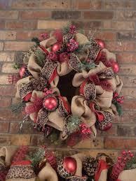 burlap wreath and garland with by decoglitz