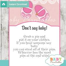 baby showergames pink baby shoes baby shower d170 baby printables