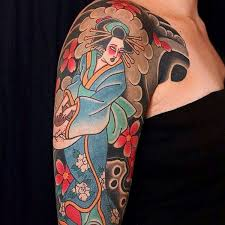 52 japanese geisha designs and drawings with images