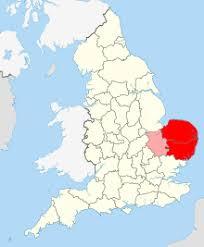 map of east uk east anglia