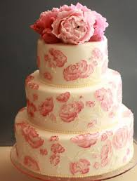 pink peony wedding cake a wedding cake blog