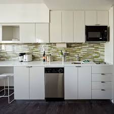 green glass backsplashes for kitchens hotel chic budget friendly green hotel the element times square