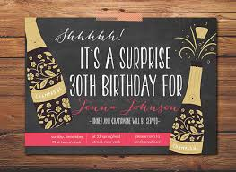 17 outstanding surprise party invitations u0026 designs free
