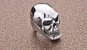 steel skull rings images Heavy skull ring stainless steel jpg