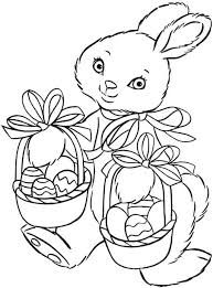 printable coloring sheets easter bunny girls boys clip