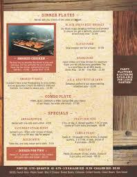 thanksgiving for two menu smokin u0027 jim u0027s house of barb b q menu