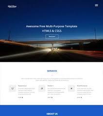 travel agency templates free download webthemez