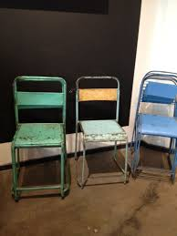 Vintage Outdoor Folding Chairs Great Buy Vintage Stacking Chairs Effortless Style Blog