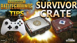 pubg survivor crate system explained xbox one playerunknown s