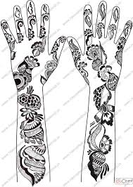 simple henna tattoo designs for hands in 2017 real photo