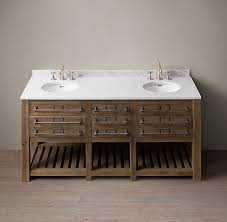 Restoration Hardware Bathroom Vanity by Early 20th C Mercantile Double Vanity Sink Restoration Hardware