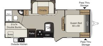 expandable rv floor plans keystone passport 2400bh rvs for sale camping world rv sales