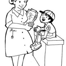 coloring pages for nurses kids drawing and coloring pages marisa