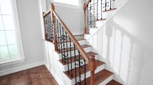 Glass Banister Kits Stair Delectable Home Interior Stair Design Using Half Turn Glass