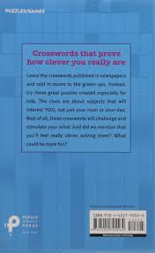 clever crosswords for kids trip payne 9781402705564 amazon com