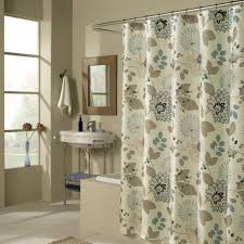 Shower Curtain For Small Bathroom Curtain Mid Century Style Shower Curtain Fixed Shower Curtain