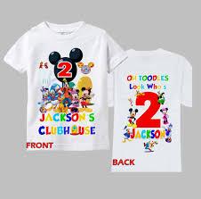 mickey mouse 1st birthday shirt mickey clubhouse birthday shirt mickey mouse clubhouse shirt 1st