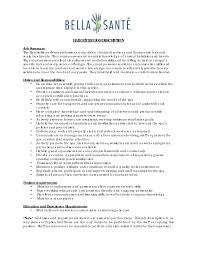 Cosmetology Skills And Abilities For Resume Cosmetology Resume Template Functional Resume Template And Get