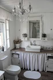 pink shabby chic bathroom stone grey modern double sink rounded