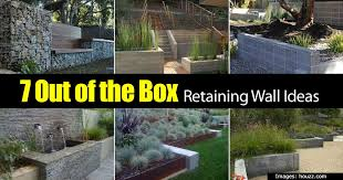 Backyard Retaining Wall Ideas Retaining Wall Ideas How To Use A Wonderful Landscape Tool