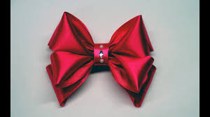 satin ribbon decor crafts how to make simple easy bow of satin ribbons ribbon