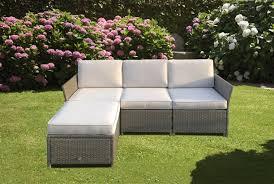 divanetti in vimini da esterno divani da giardino in rattan sintetico