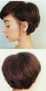 haircuts that show your ears letting the front of your hair grow while keeping the length