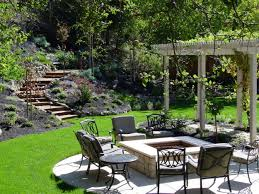 exterior cozy landscaping patio ideas for your exterior home